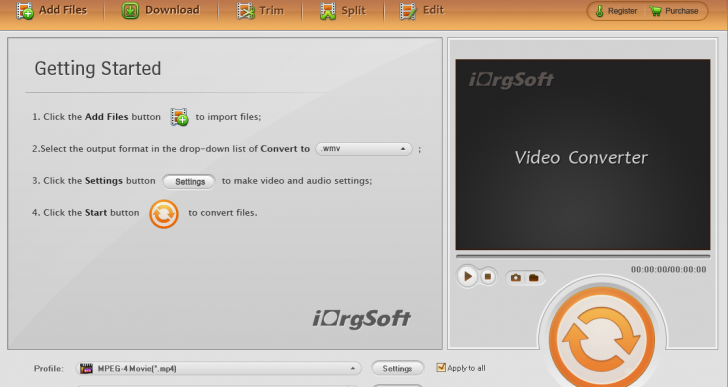 Handy iOrgSoft Video Converter Convert Your Video to a More Easy-to-Play Format