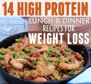 14 Hight Protein Weight Loss Recipes