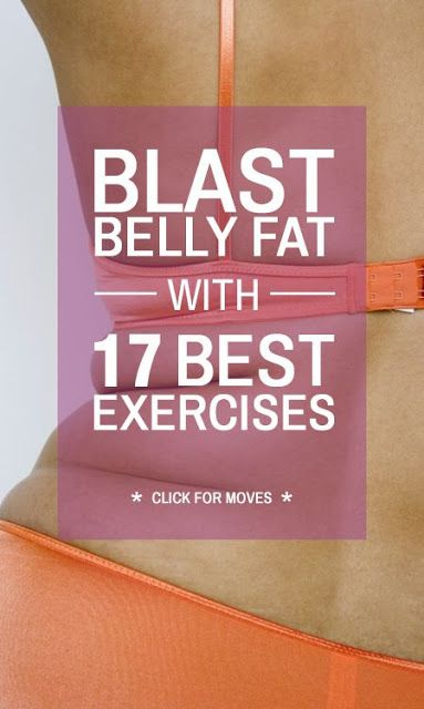 Blast Belly Fat with 17 Best Exercises
