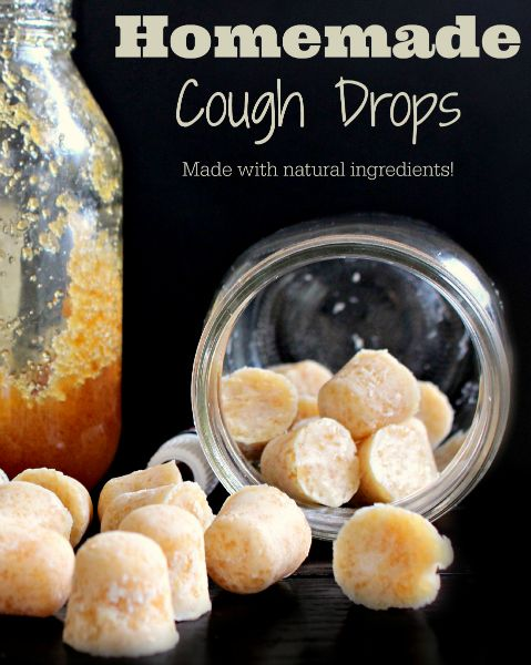 Homemade Cough Drops