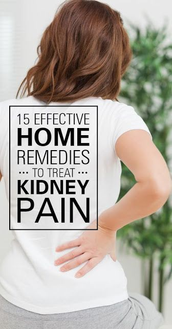 15 Effective Home Remedies To Treat Kidney Pain