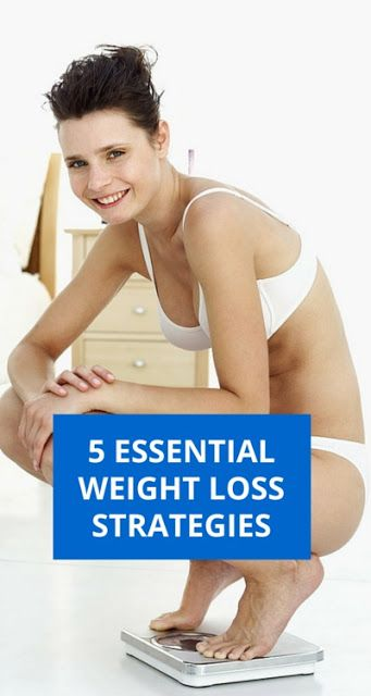 5 Essential Weight Loss Strategies