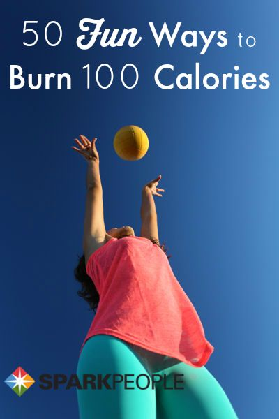 50 Easy Ways to Burn 100 Calories