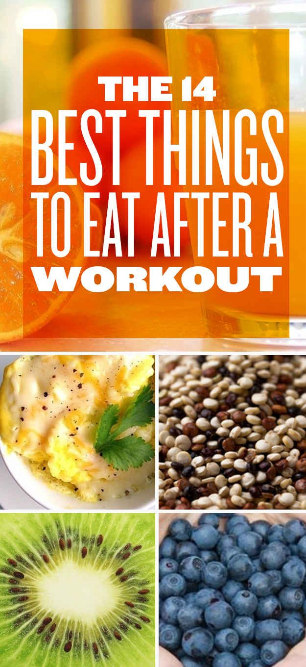 The 14 Best Things To Eat After A Workout
