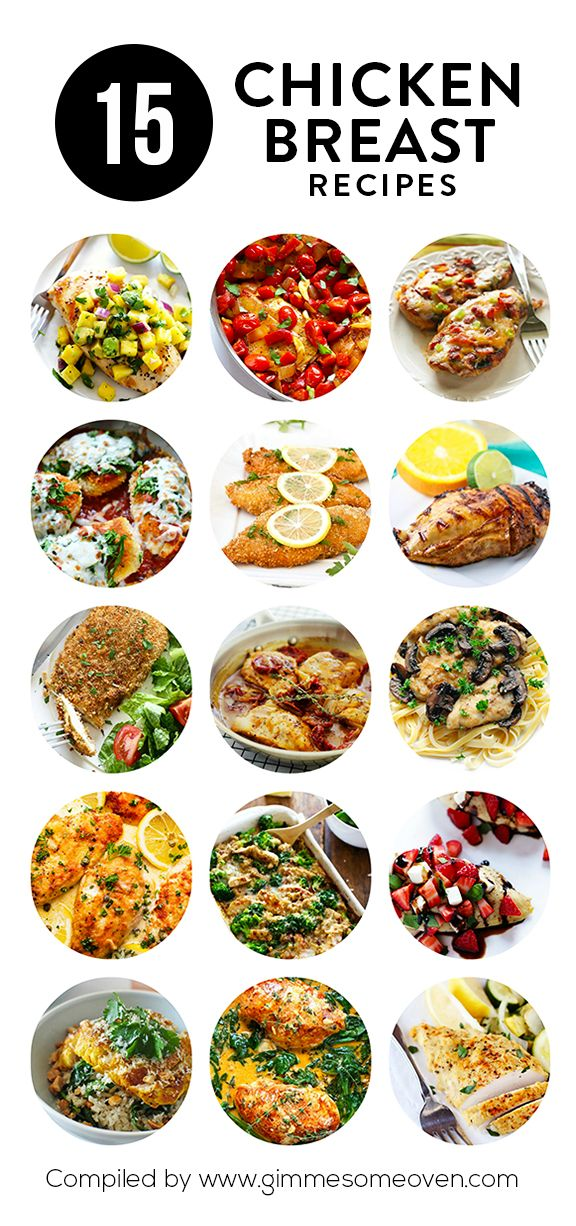 15 Chicken Breast Recipes