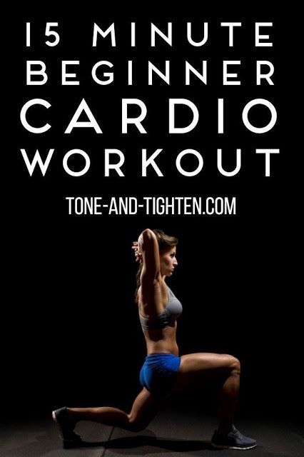 15 Minute Beginner Cardio Workout
