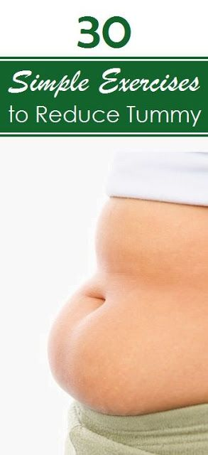 30 Simple Exercises to Reduce Tummy