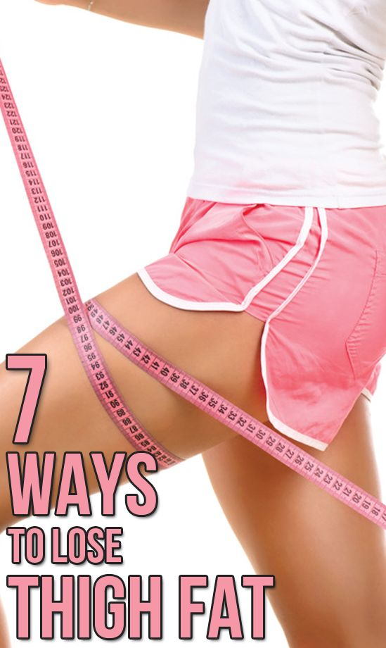 7 Ways to Lose Inner Thigh Fat for Good.