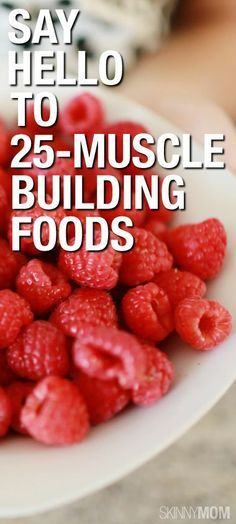 Check out these muscle foods