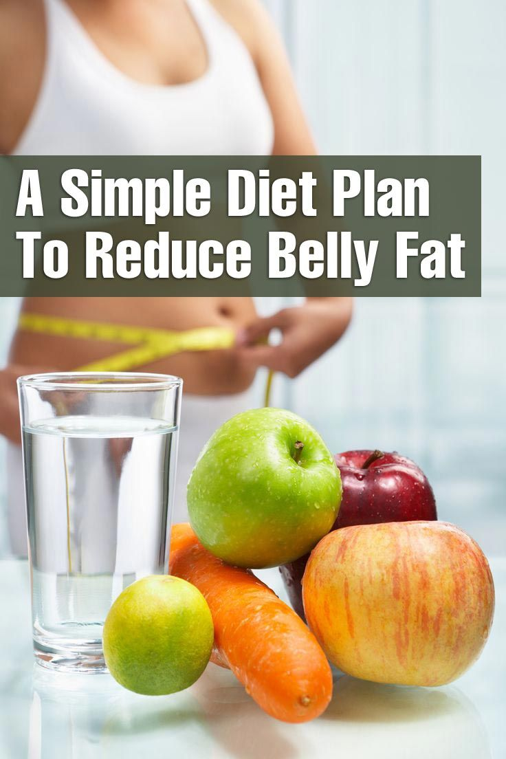 Diet Plan To Reduce Belly Fat