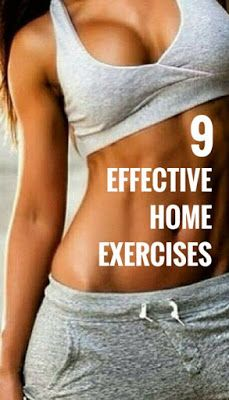 9 Simple Exercises You Can Do At Home
