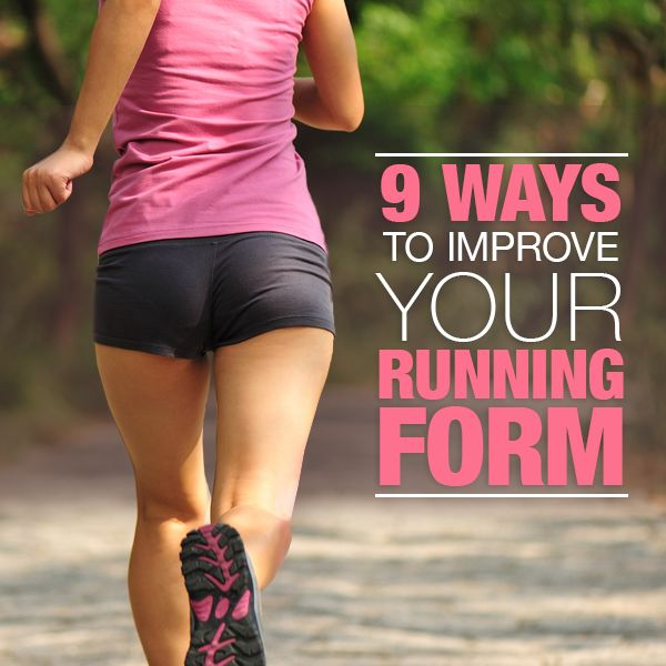9 Ways to Improve Running Form
