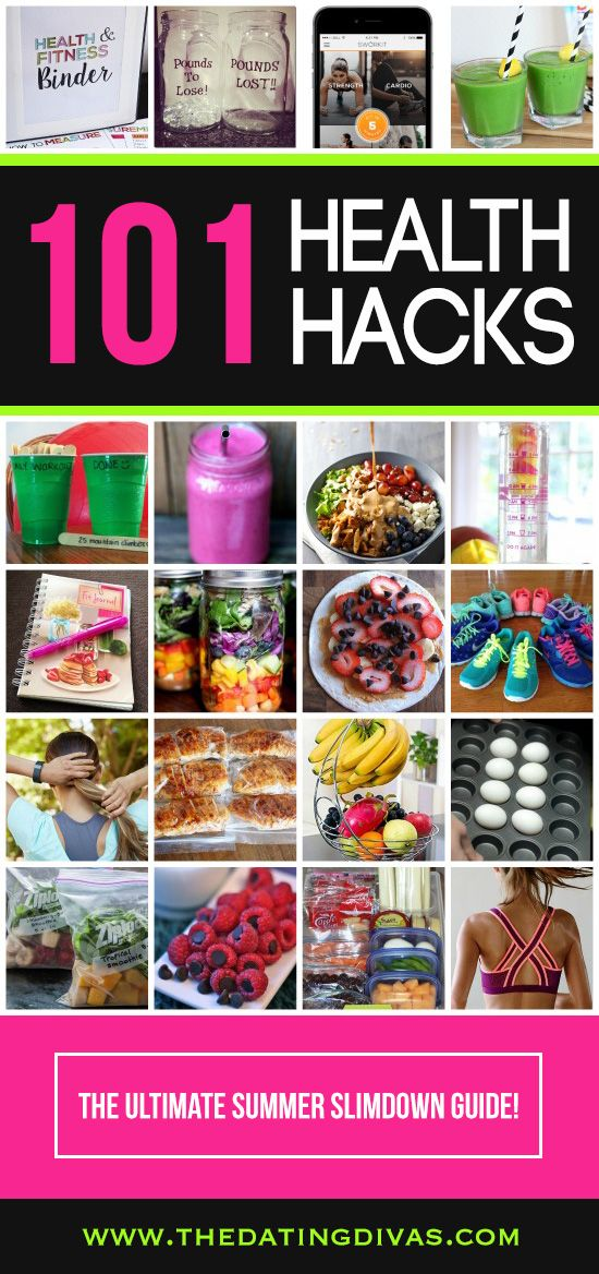 101 Summer Slimdown Hacks