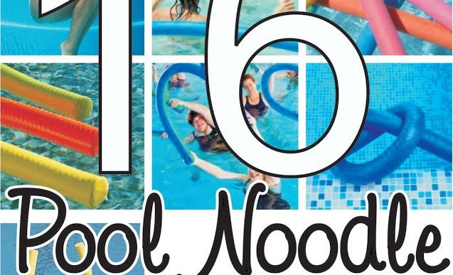 16 Pool Noodle Exercises