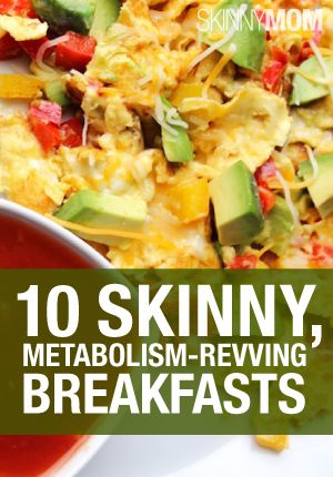 Metabolism-Revving Breakfasts