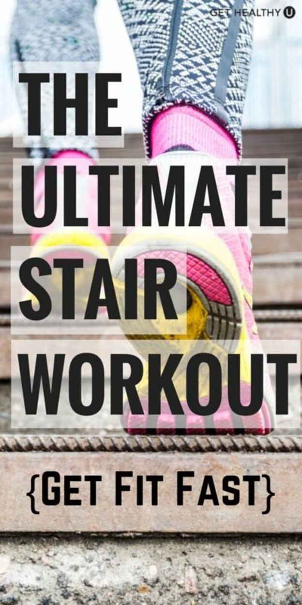 Run The Stairs Workout - Get Healthy U