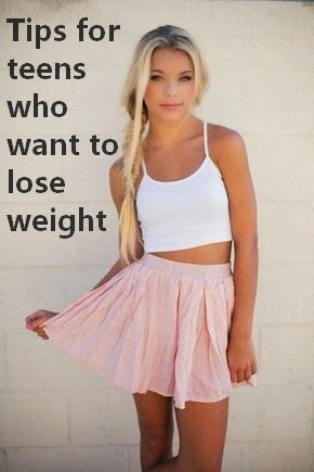 TIPS for teens who want to LOSE WEIGHT FAST