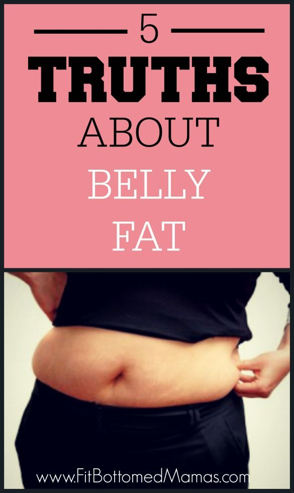 5 Truth About Belly Fat