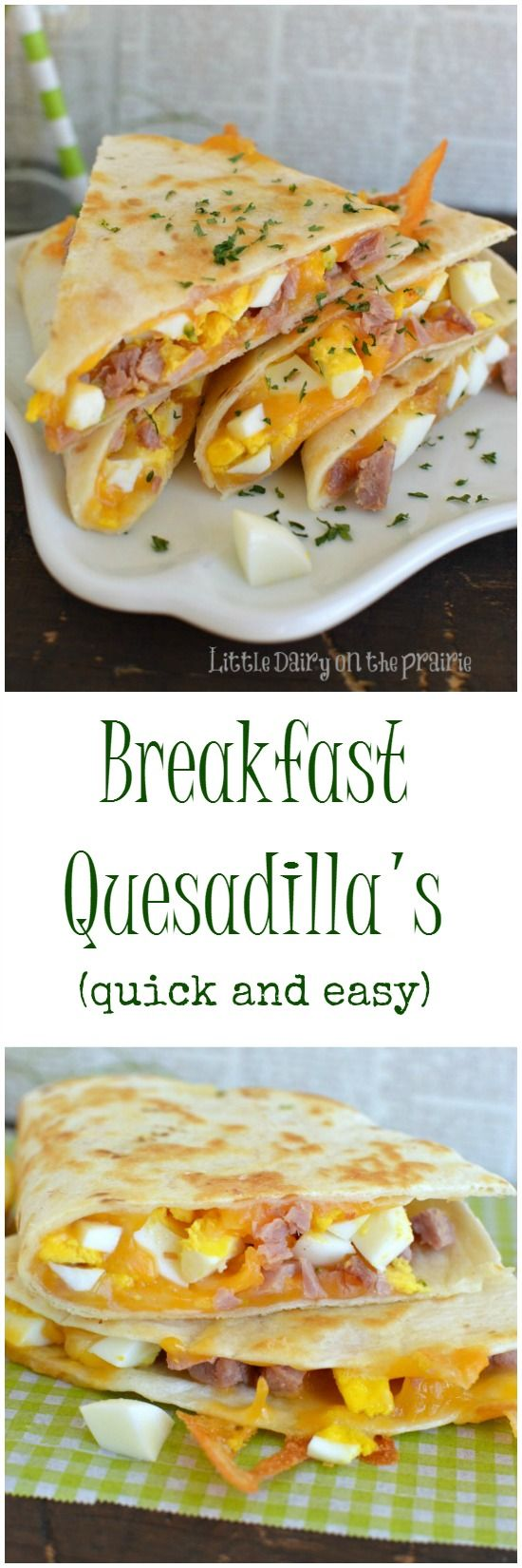 Breakfast Quesadillas The HEALTHY Meal