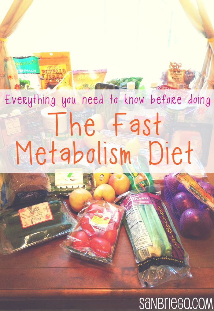 Everything You Need to Know Before Doing The Fast Metabolism Diet