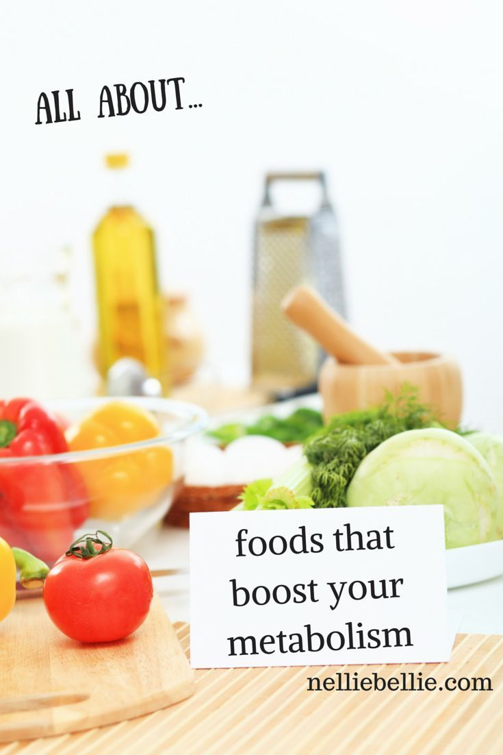 Food for metabolism boosts, from...