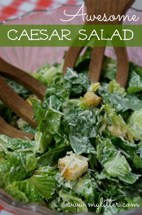 How to make a Caesar Salad that you will LOVE