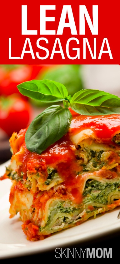 Lean Turkey and Spinach Lasagna