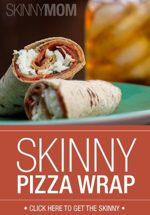 Skinny Pizza Wrap A New Healthy Way