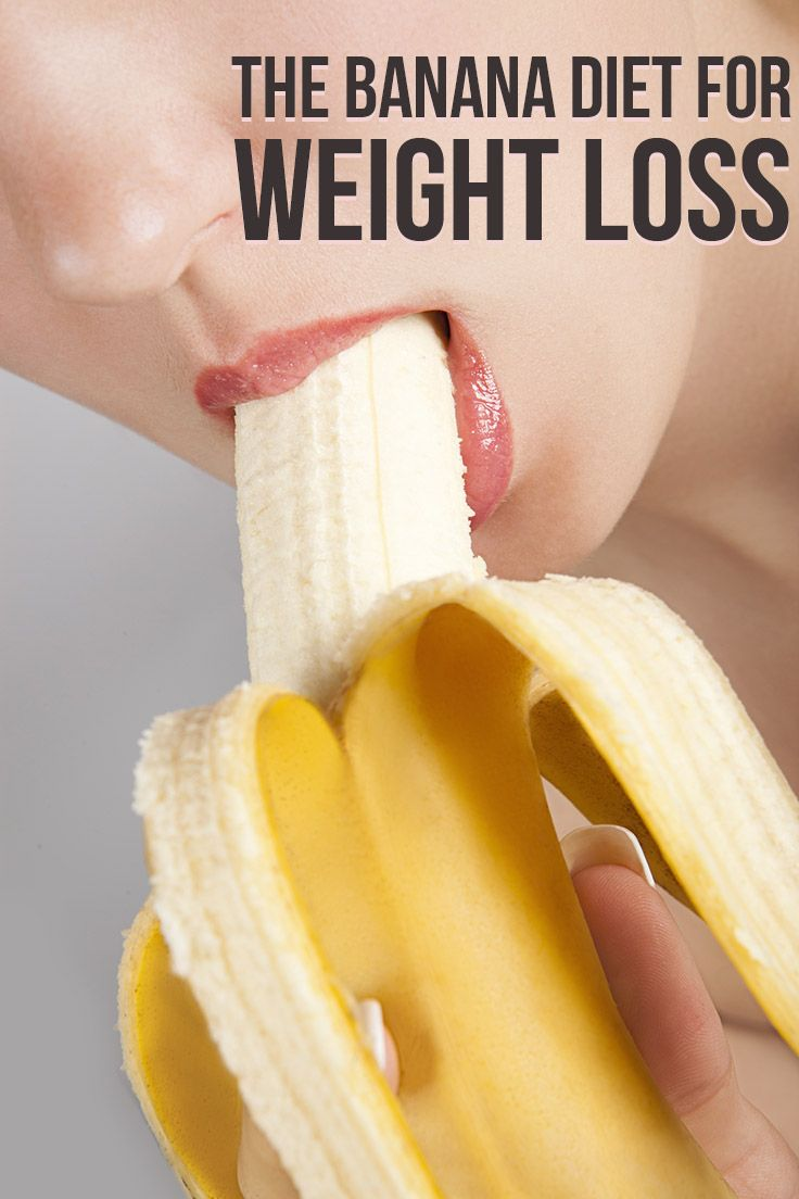The Banana Diet, Bananas For Weight Loss