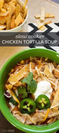 Tortilla Chicken Soup - The World Of Health