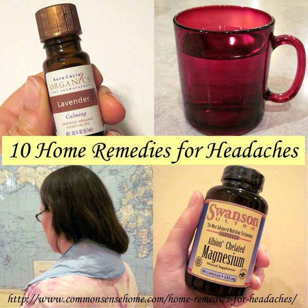 10 Home Remedies for Headaches