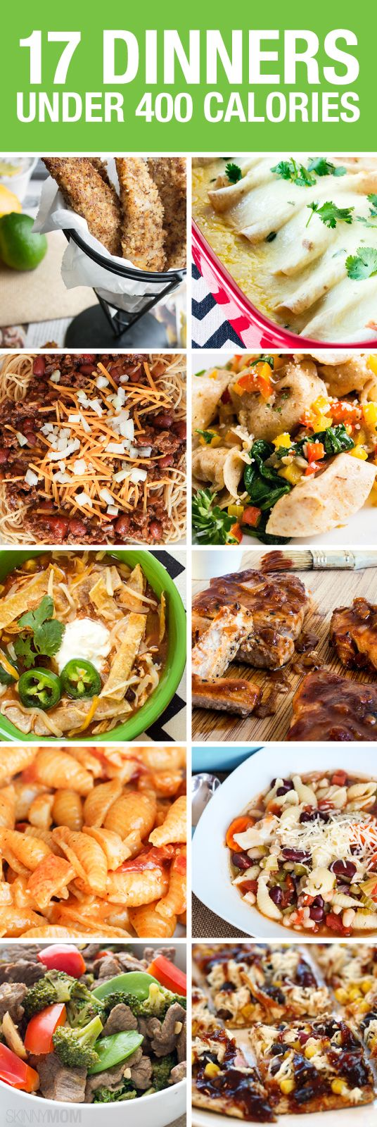 14 Healthy 400-Calorie Dinners