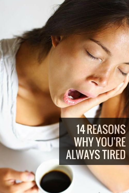 14 Reasons Why You're Always So Tired