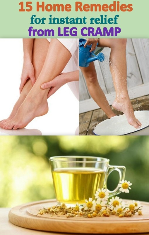 15 Home Remedies for Getting Instant Relief from Leg Cramps