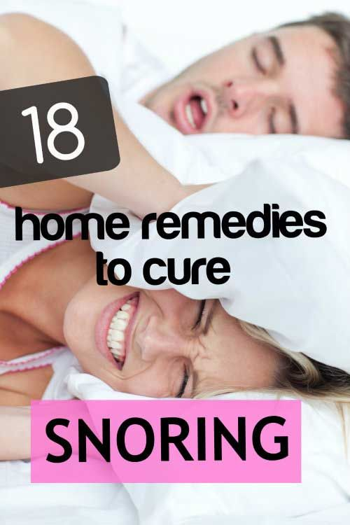 18 Home Remedies to Get Rid of Snoring