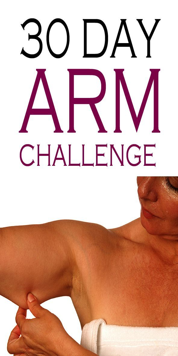 30 Day Arm Challenge to add tone and definition to your arms