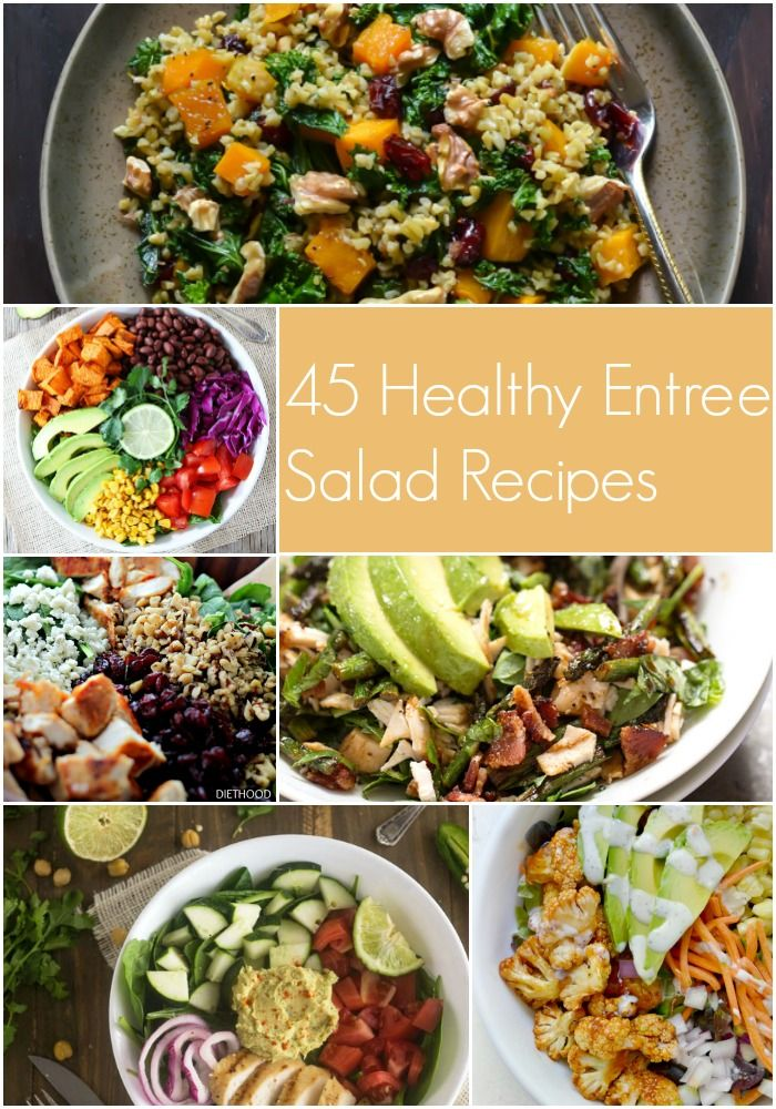 45 Filling and Healthy Salad Recipes