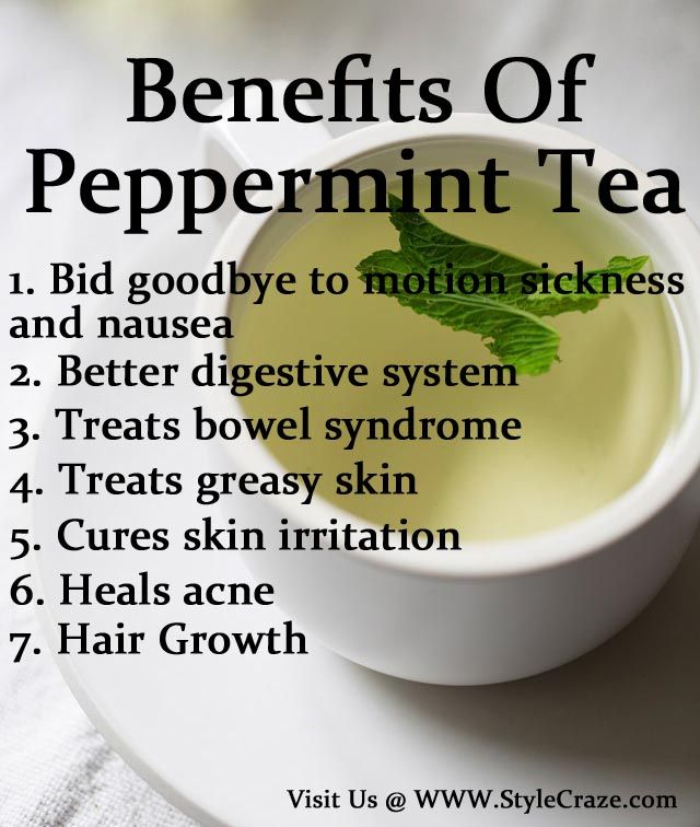 7 Best Benefits and Uses Of Peppermint Tea For Skin, Hair and Health