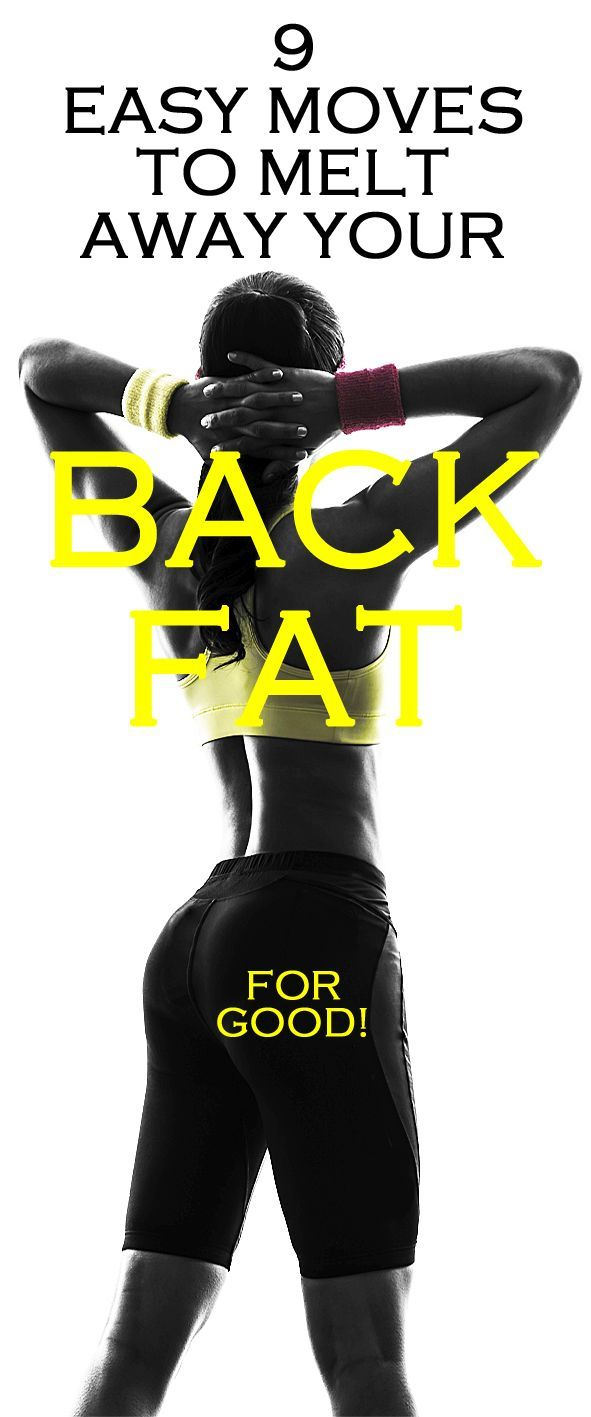 9 easy moves to melt away your BACK FAT