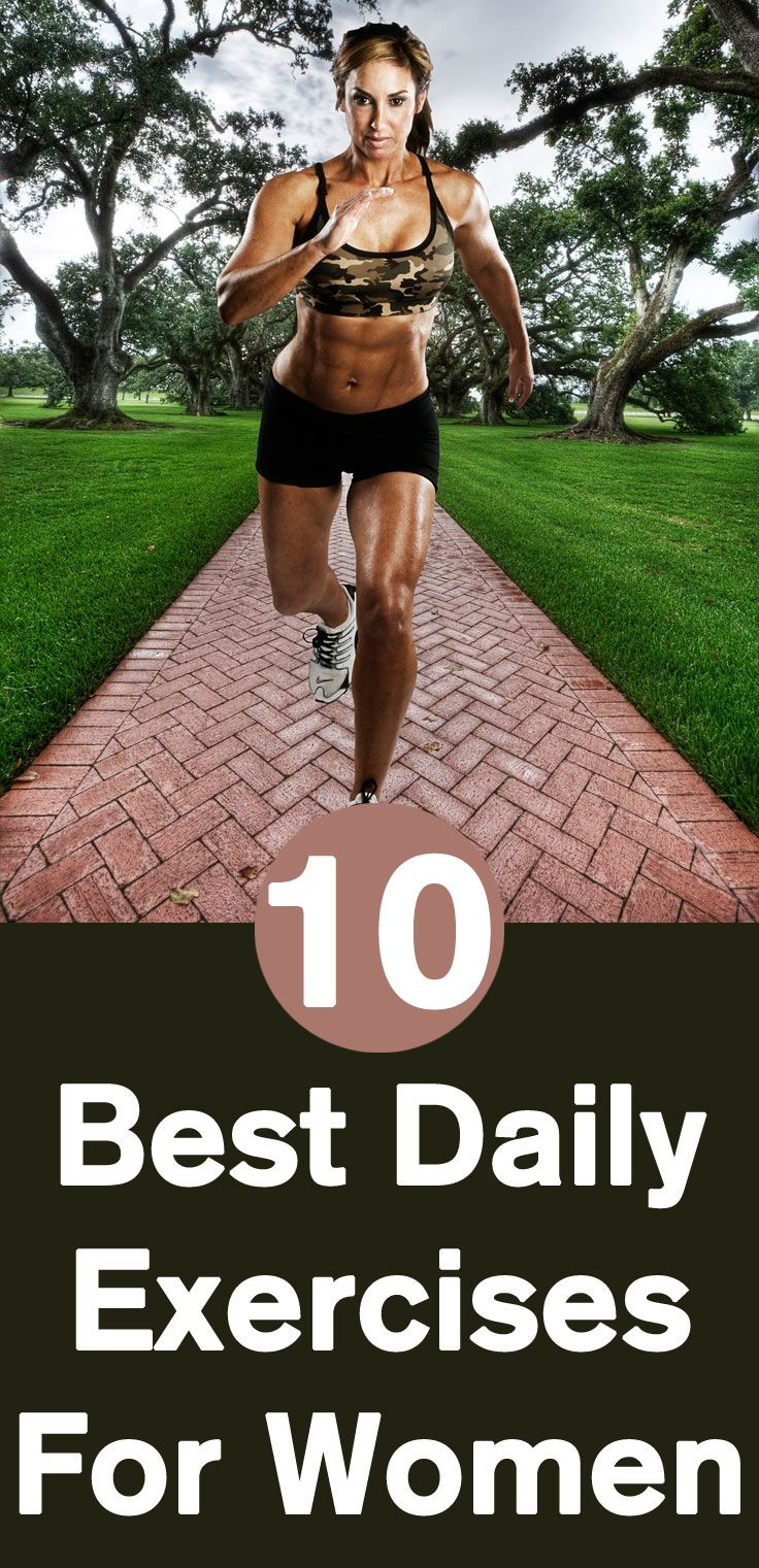 Best Daily Exercises For Women - Our Top 10