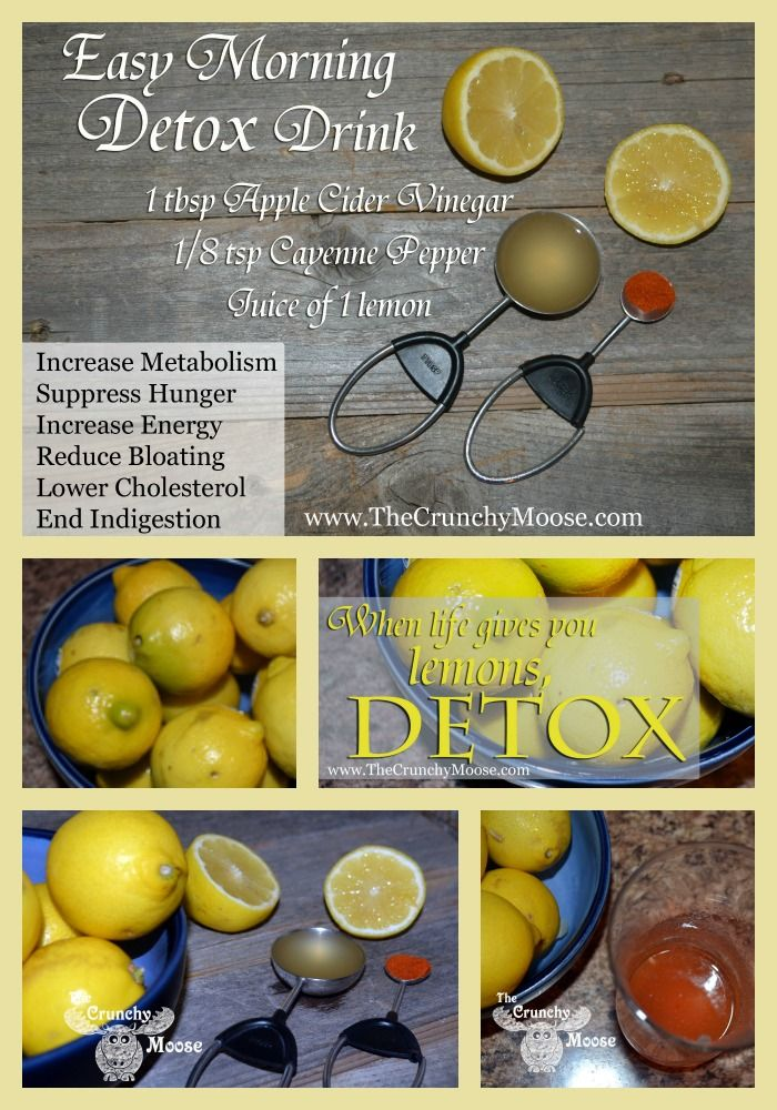 Easy morning detox!