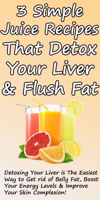 Flush Toxins from Your Liver & Eliminate Unwanted Fat