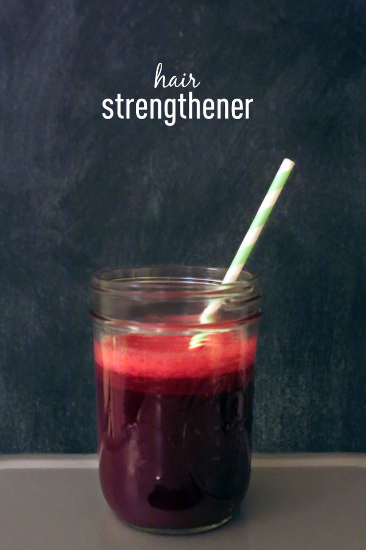 Hair Strengthening Juice Recipe
