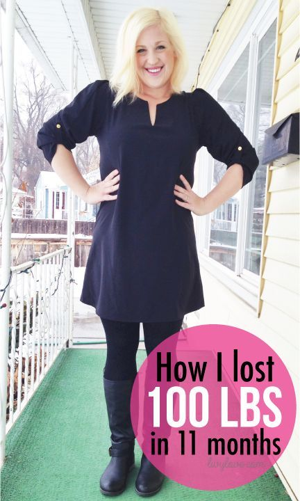 How I lost 100 lbs in 11 months (Livy Love)