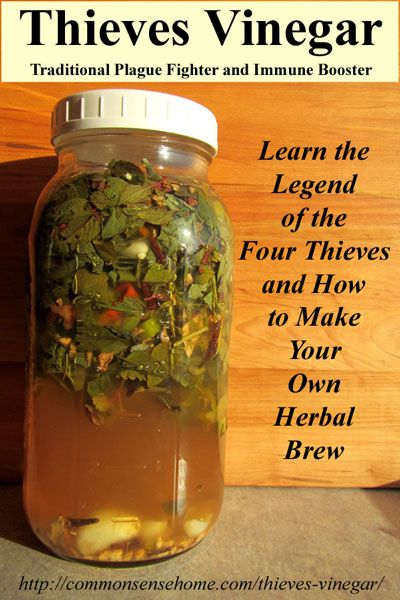 How To Make Thieves Vinegar