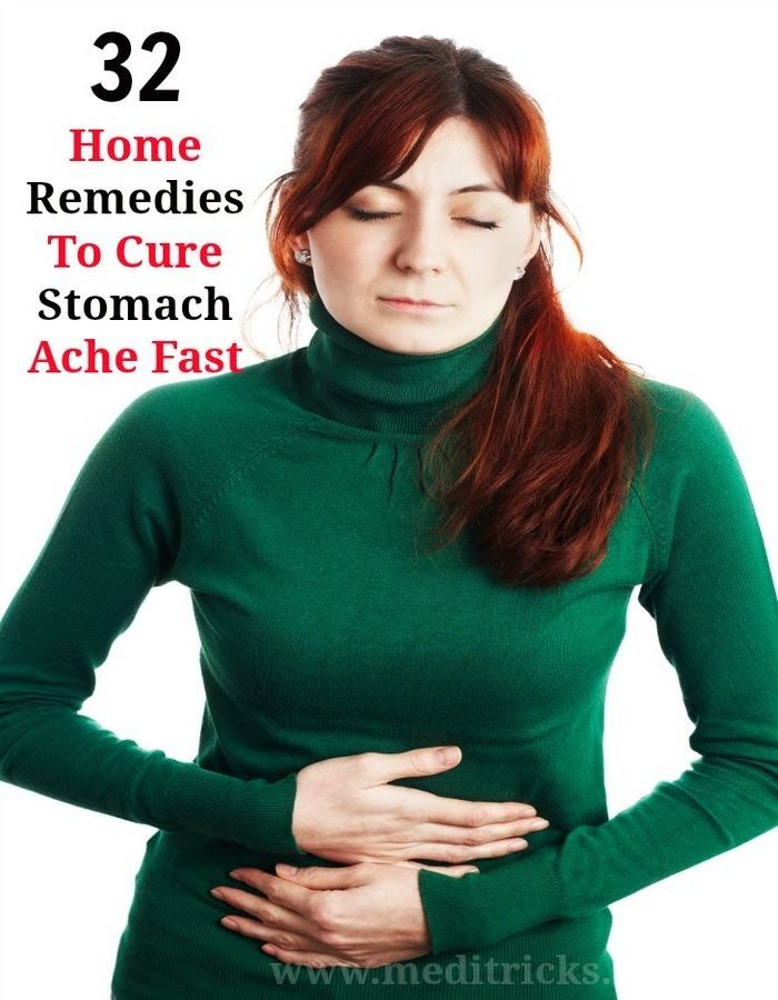 How to Cure a Stomach Ache Fast
