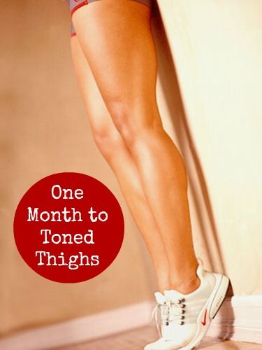 One Month to Toned Thighs