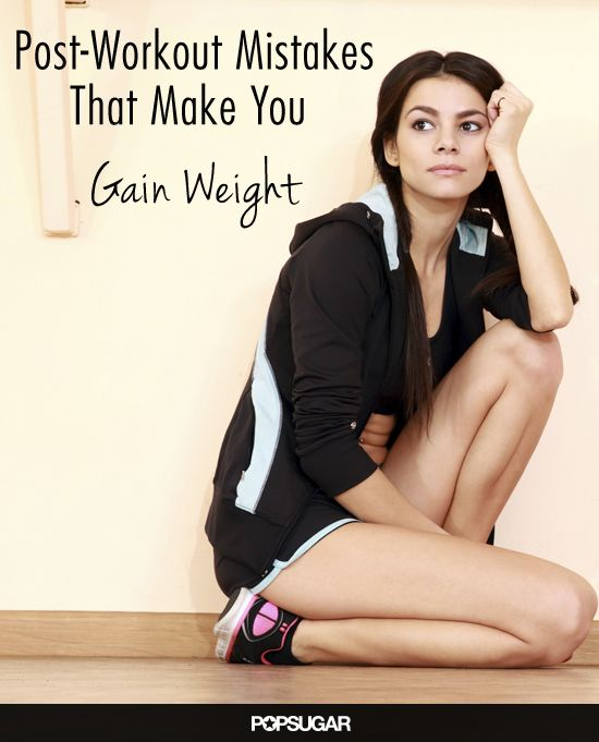 Post-Workout Mistakes That Cause Weight Gain