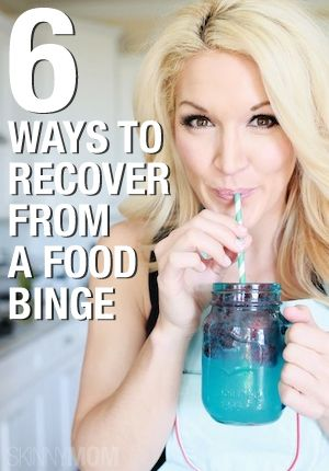 What To Do After You Binge Eat