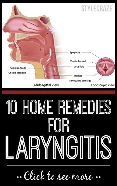 10 Effective Home Remedies To Get Rid Of Laryngitis